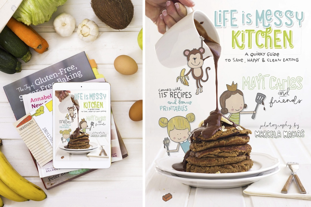 """Life is messy kitchen"" el libro de Mayi Carles"
