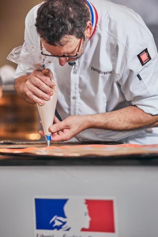 Semana de la pastelería con el Chef Pierre Mirgalet