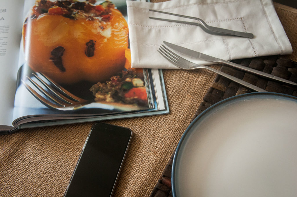pimentones rellenos de quinoa