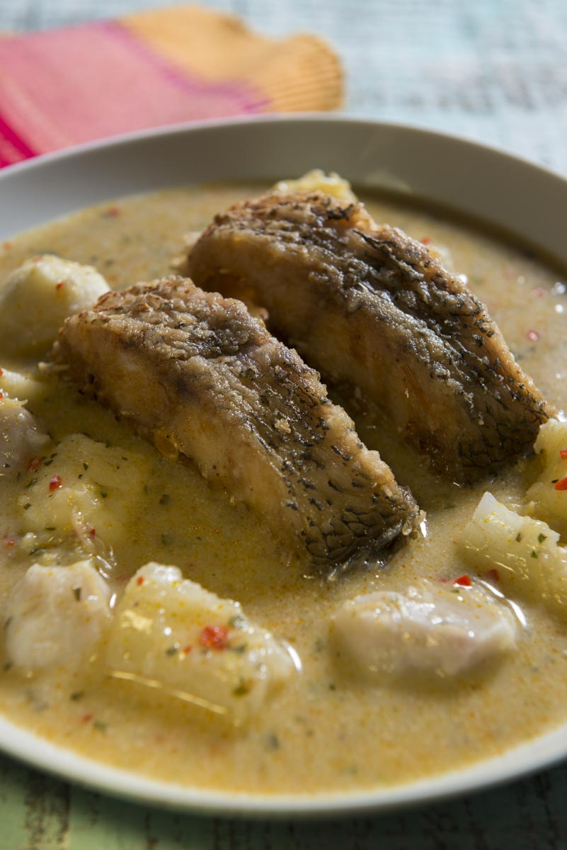 fufu de pescado colon
