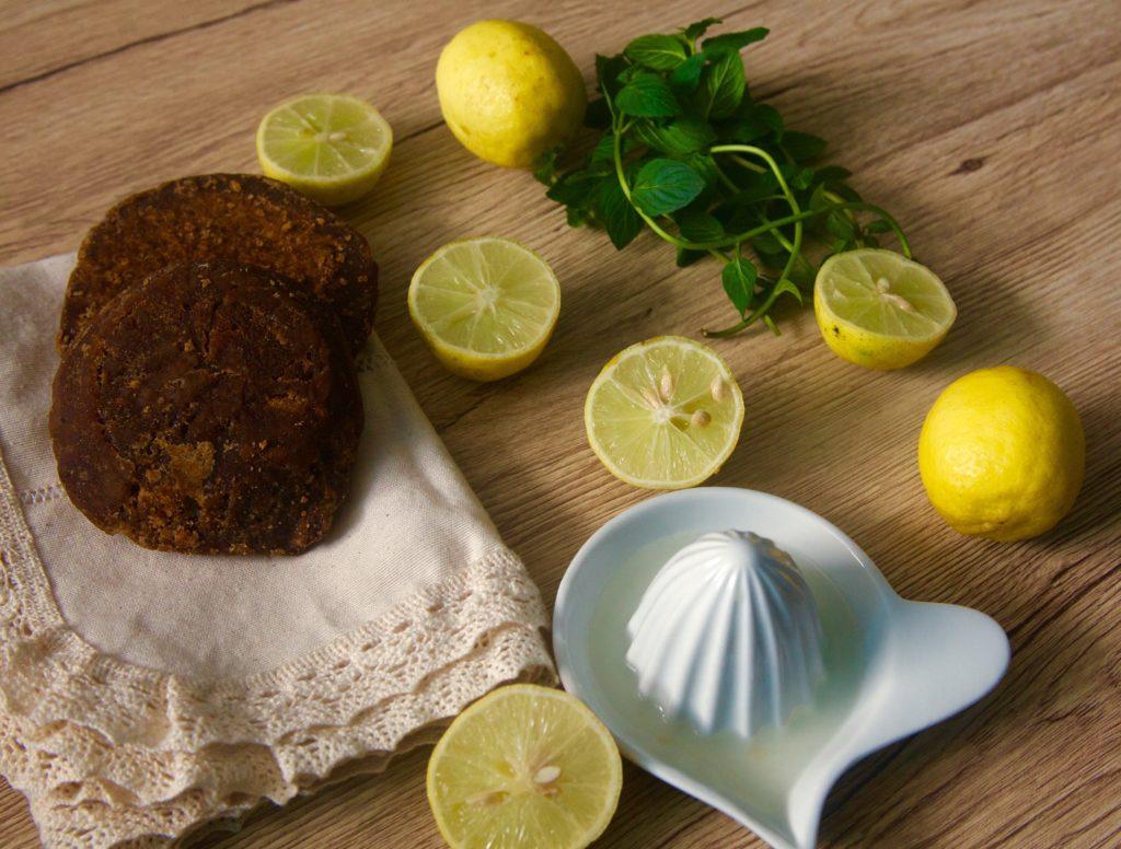 Limonada con raspadura