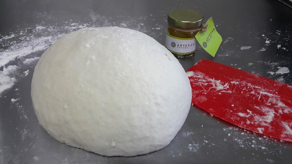 Pan de coco masa
