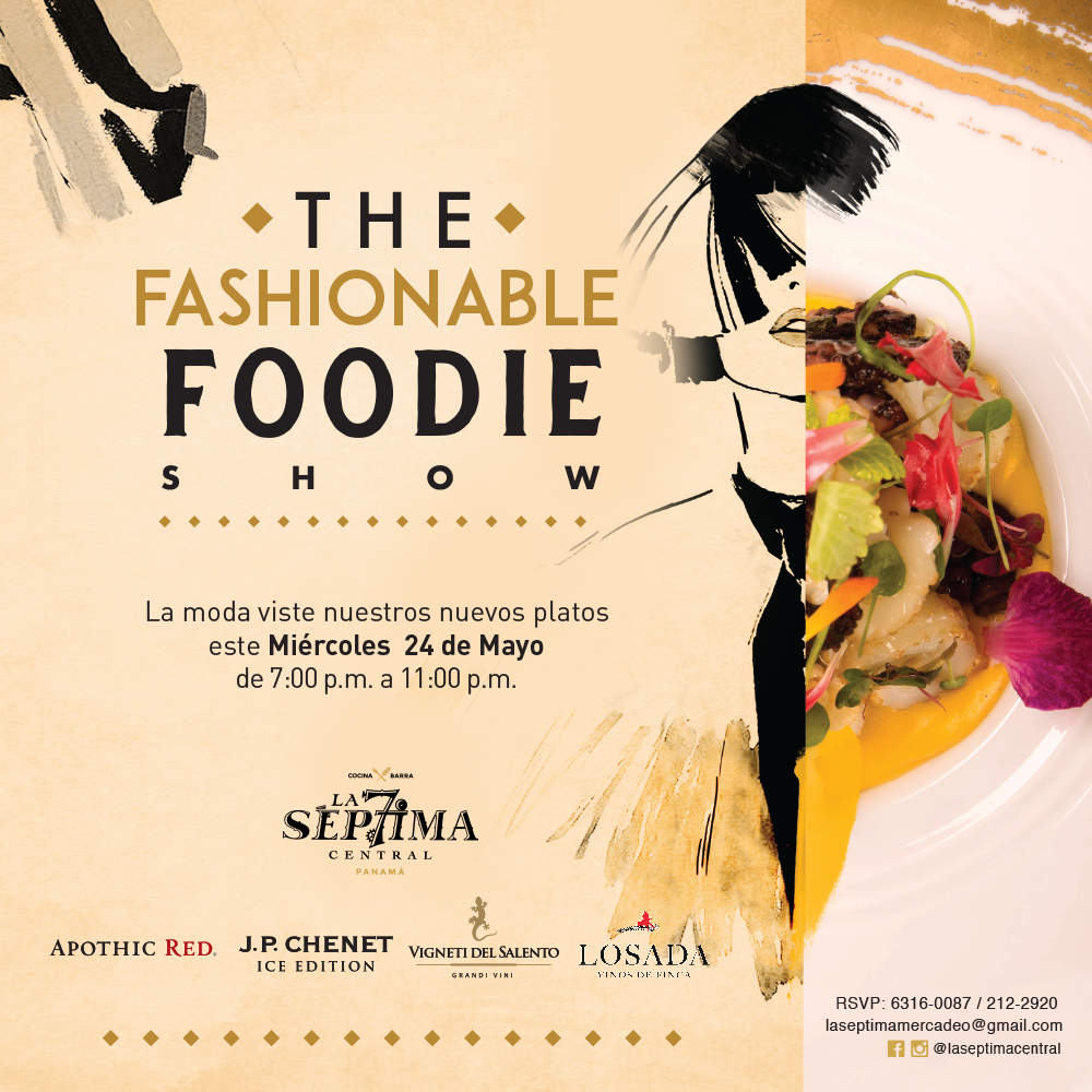 The Fashionable Foodie Show en La Séptima Central