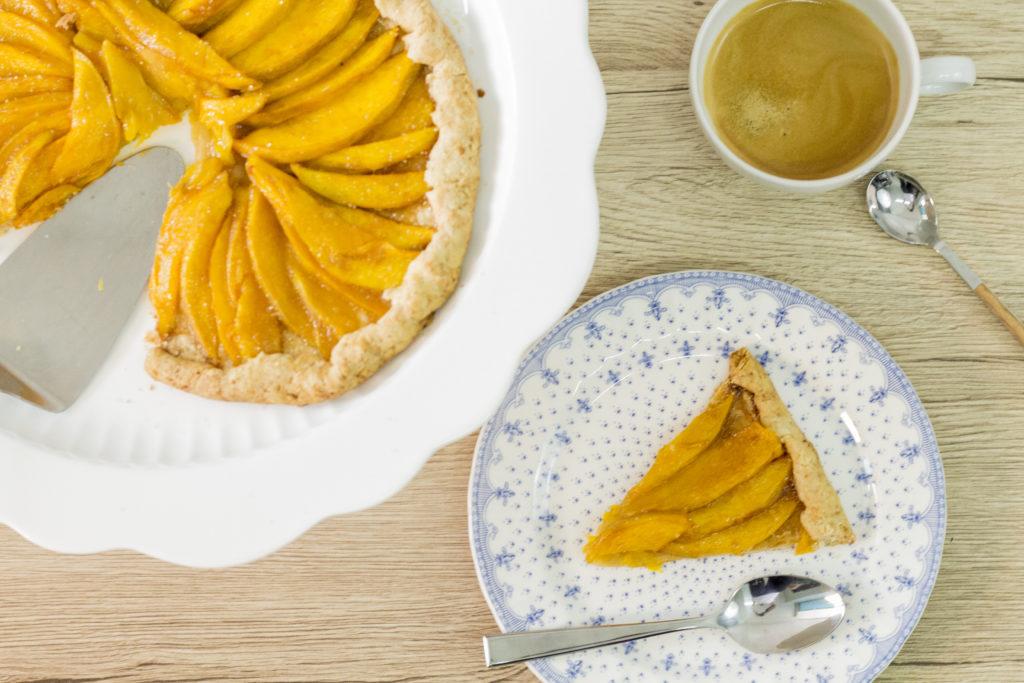 Temporada de mango: Pie de mango