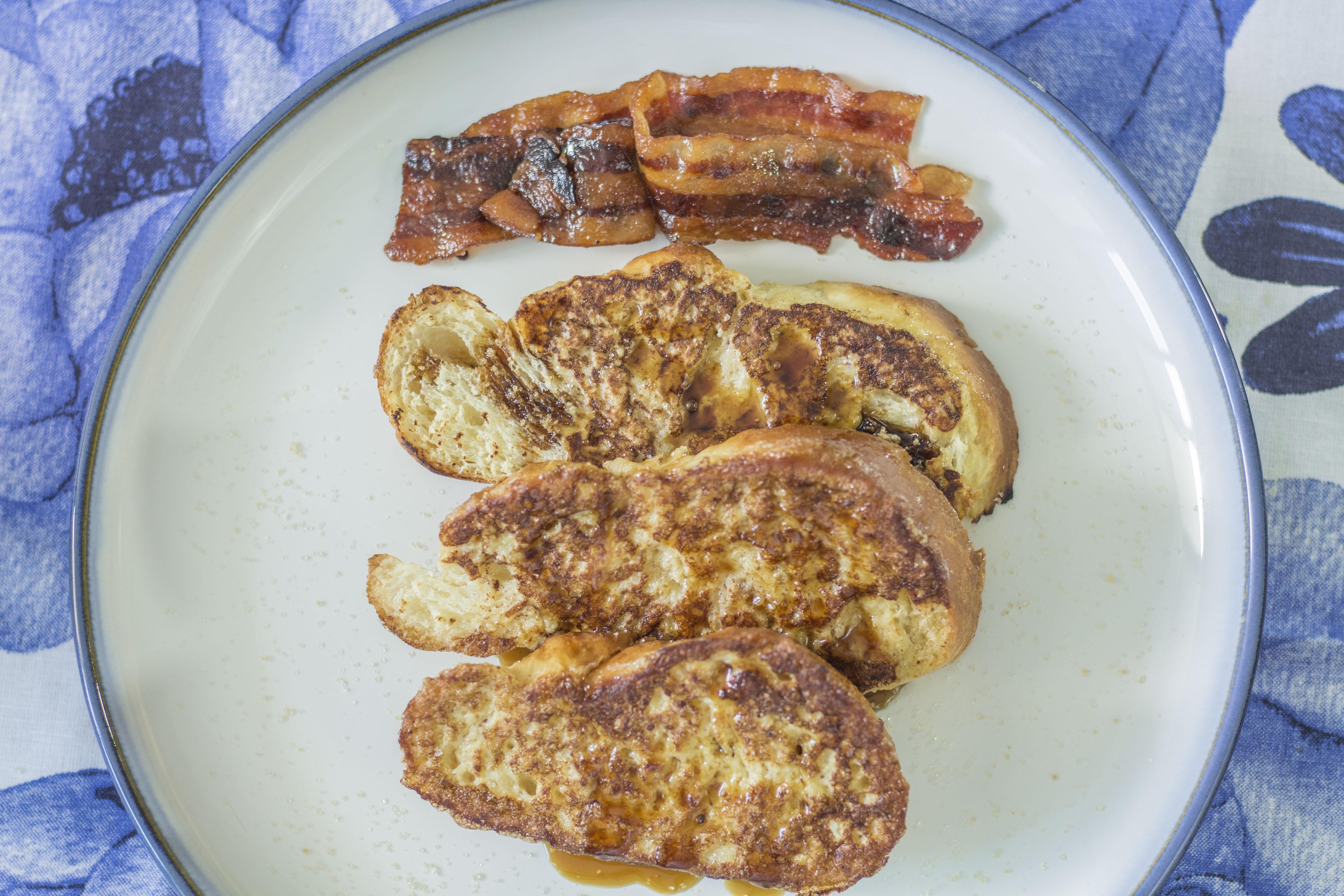 tostadas francesas Julia Pela la Yuca