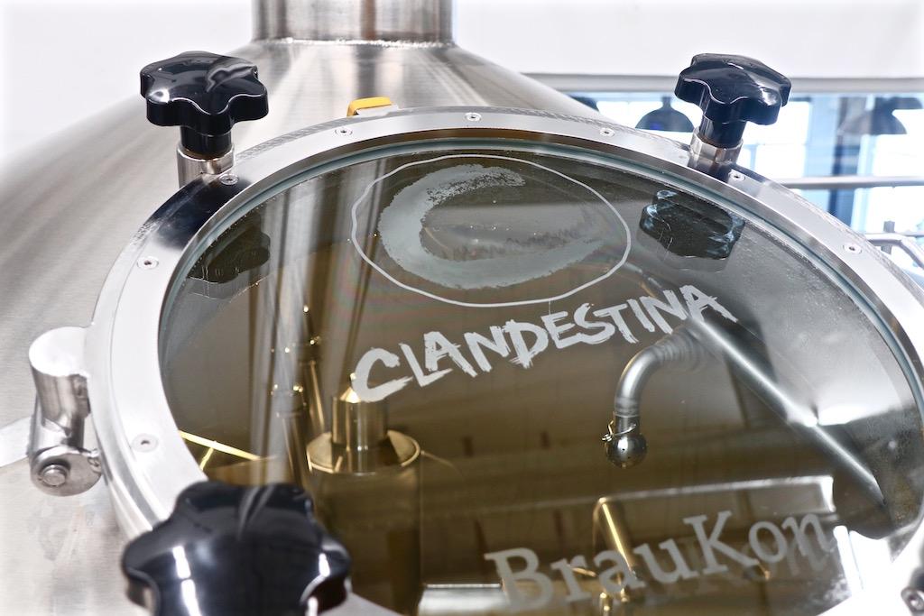Planta producción cerveceria Clandestina