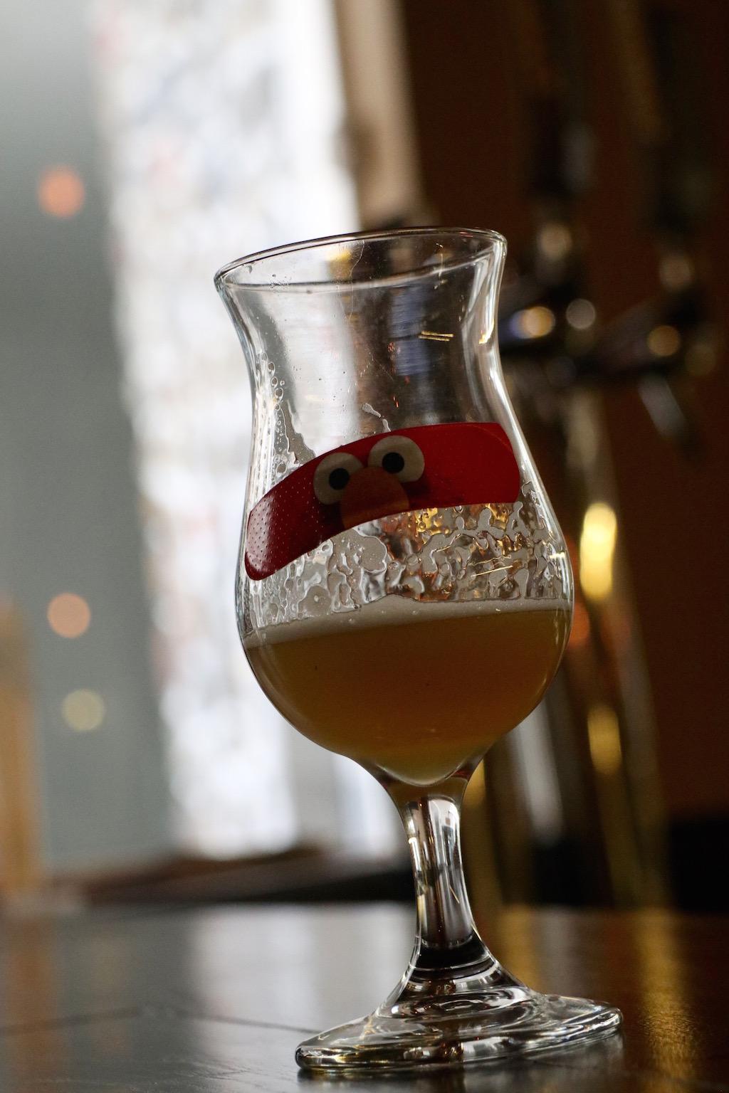 Cerveza en copa