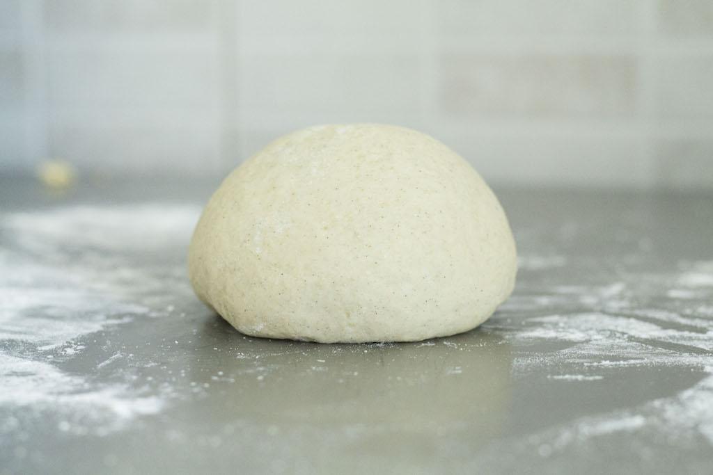 Trenza sueca o pan de cardamomo