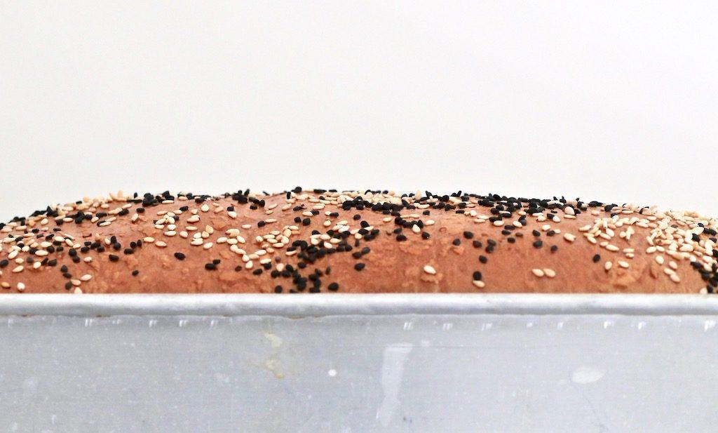 Pan de molde en molde metal