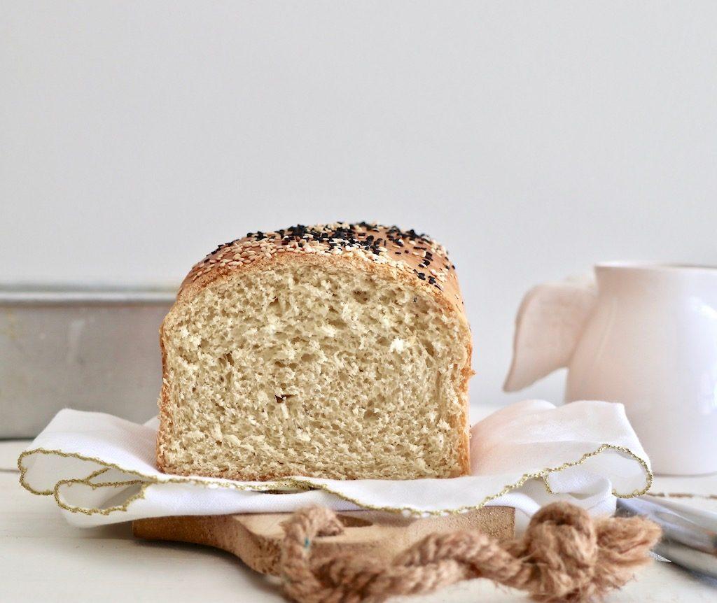 pan de molde al corte