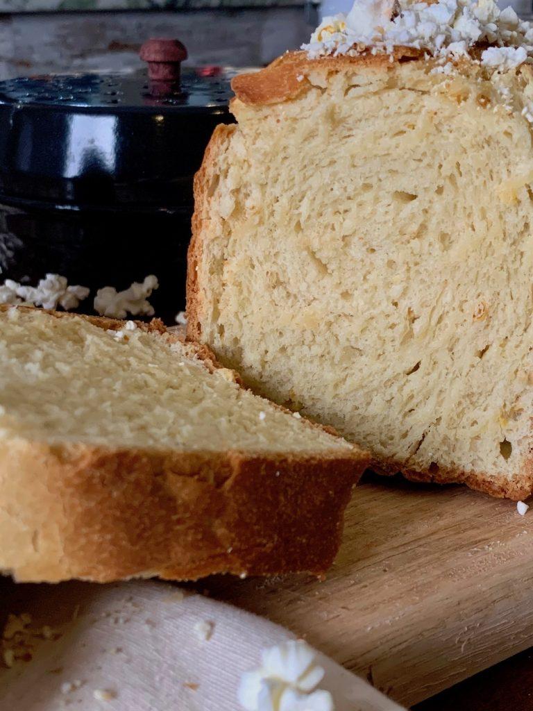 pan de palomitas corte
